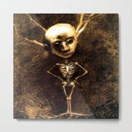 "Odilon Redon ""Spirit of the forest"" Metal Print"