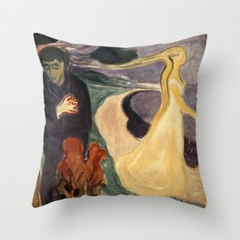 Edvard Munch - Separation Throw Pillow