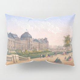 Les tuileries Paris France Pillow Sham