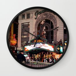 New York City - Times Square Wall Clock