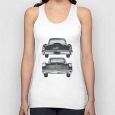Front and back Unisex Tank Top