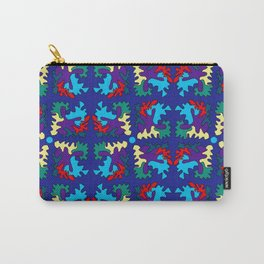 Pinwheels and Shapes Carry-All Pouch