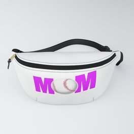Funny Tee-Ball Mom design for Sport Mothers Fanny Pack