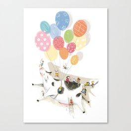 Balloooons Canvas Print