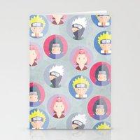 naruto Stationery Cards featuring Naruto icons by Maha Akl