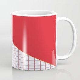 Geometrics in Red and Purple Coffee Mug