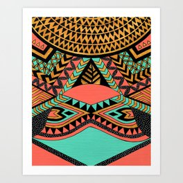 PeruNative Art Print