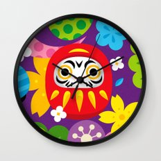 Daruma Wall Clock