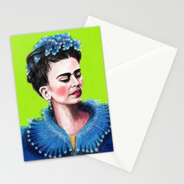 Frida Green Stationery Cards