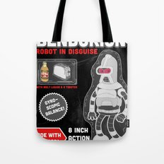 Bendurion: Robot in Disguise Tote Bag