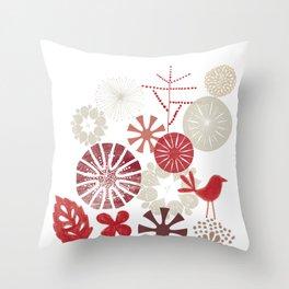 Autumn Sonata Throw Pillow