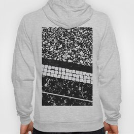 Terrazzo Pattern Black & White #1 #texture #decor #art #society6 Hoody