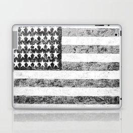 Grunge American Flag Laptop & iPad Skin