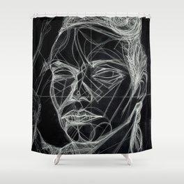 Donna Enigmatica #5; Vivien Solari #1 (B) - Artist: Leon 47 ( Leon XLVII ) Shower Curtain