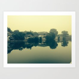 Beijing Art Print