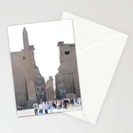 Temple of Luxor, no. 10 Stationery Cards