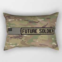 Future Soldier (Camo) Rectangular Pillow