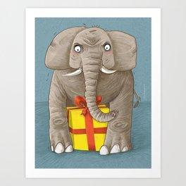 trunk or gift Art Print