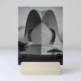 Auditorio de Tenerife Adán Martín Mini Art Print