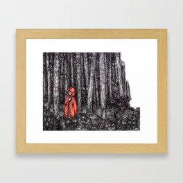 Fear's Uncloaking Framed Art Print