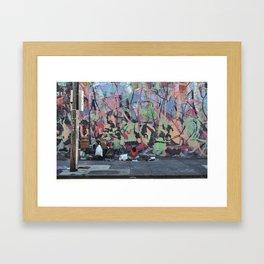 OJ Jug - Portland, Oregon Framed Art Print