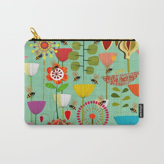 WHERE THE BEES FLY Carry-All Pouch