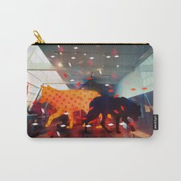 wolves in the met Carry-All Pouch