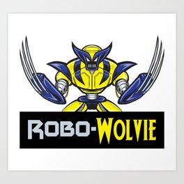 Robo-Wolvie Art Print