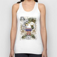 army Tank Tops featuring army by LoriDiamondArt
