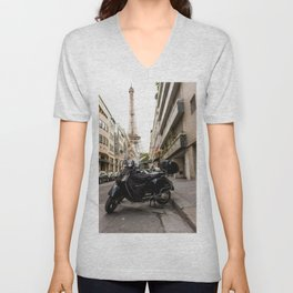 French Getaway Unisex V-Neck