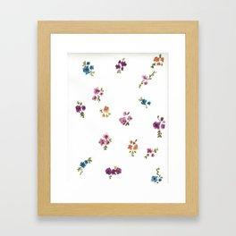 Blurred Spring Framed Art Print