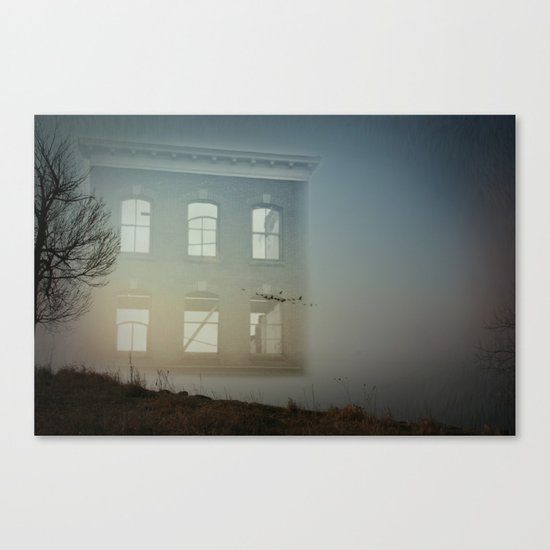 House of Empty Canvas Print