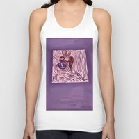 om Tank Tops featuring om by Loosso