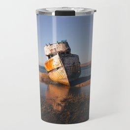 Abandoned Shipwreck - Point Reyes, California Travel Mug