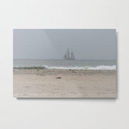 Coast line, California Metal Print