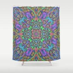 For You Mandala Shower Curtain