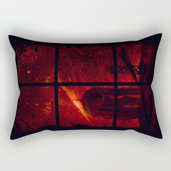 The Otherside Rectangular Pillow
