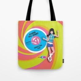 Go-Go 45! Tote Bag