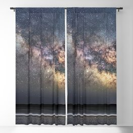 Sea of Stars at the beach Blackout Curtain