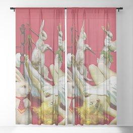 Rabbit Hole Sheer Curtain