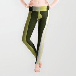 Cactus Garden Stripes 3V Leggings