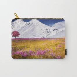 When Flowers Bloom And The Mountains Froze Carry-All Pouch