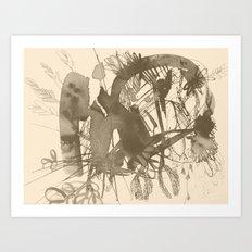 composition 5 Art Print