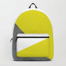 Concrete vs Corn Yellow Backpack