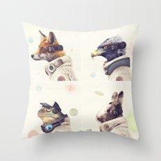 Star Team - Legends of Lylat Throw Pillow