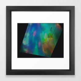 Hologram Framed Art Print