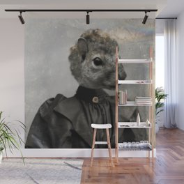 Miss Squirrel Wall Mural