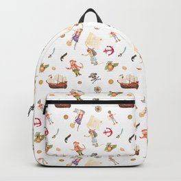 Pirate Ahoy Mateys Backpack