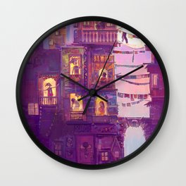 Little Girl Lost Wall Clock