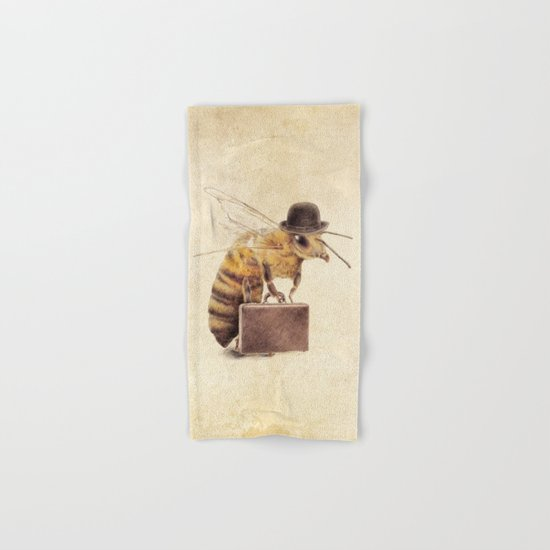 Worker Bee Hand & Bath Towel
